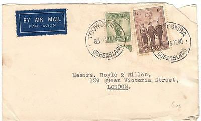 a264 Australia Airmail cover to London