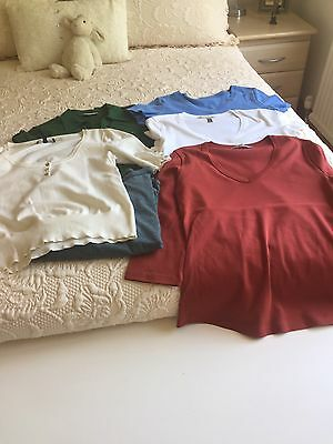 Size 12 Bundle Tops M And S Laura Ashley
