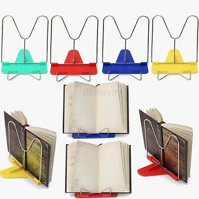 Adjustable Angle Foldable Portable Reading Book Stand Mount Document Holder G51