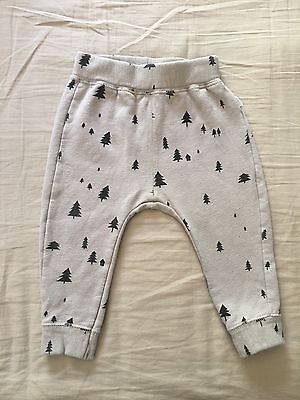 Zara Baby Boy Tree Leggings / Trousers 9-12 Months