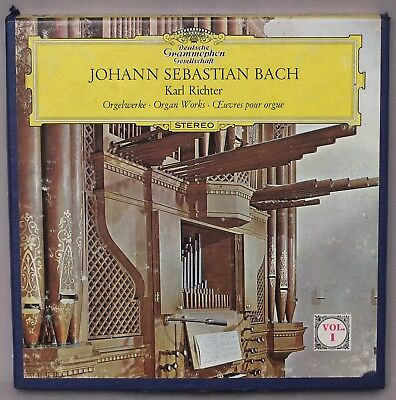 Johann Sebastian Bach Karl: Richter - Organ Works Vol. 1 Reel to Reel Tape