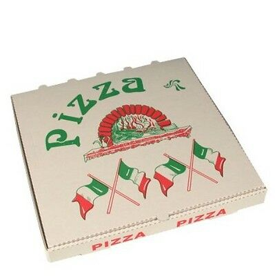 3600 Pizza Karton 33x33x4cm Pizzabox Pizzaschachtel