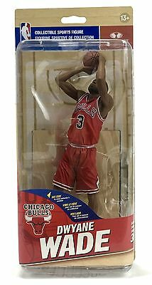 NBA SportsPicks Series 30 Dwyane Wade Chicago Bulls Mcfarlane Action Figure