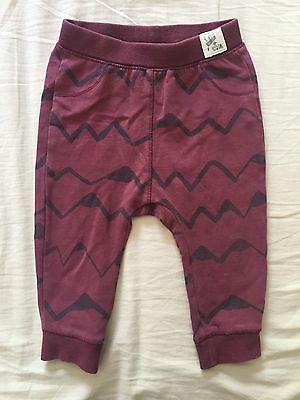 Zara Baby Boy Mountain Leggings / Trousers 9-12 Months