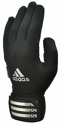 adidas Outdoor Weight Training Gloves Black Gym/Workout Full Finger Medium