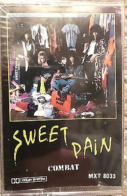 RARE SEALED NEW Sweet Pain Cassette 1985 Kelly Nickels glam Metal La Guns Hanoi