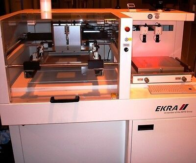 EKRA X1-SL Semi-Automatic Screen Printer