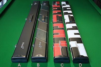 Peradon Halo 3/4 PLUS 3 Section Snooker/Pool Cue Case! Chesworth Cues, Sheffield