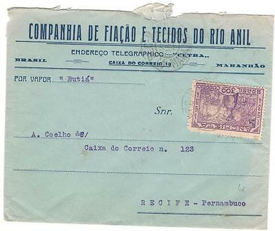 a528 Brazil  cover to England