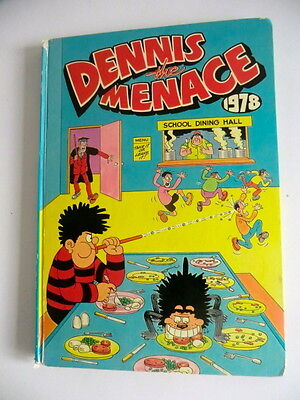 Rare Hb Beano Spin-Off Annual - Dennis The Menace 1978 - Unclipped
