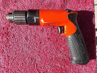 """Snap-On *excellent!* Pdr3000A """"new Style"""" 3/8"""" Heavy Duty Air Drill!"""