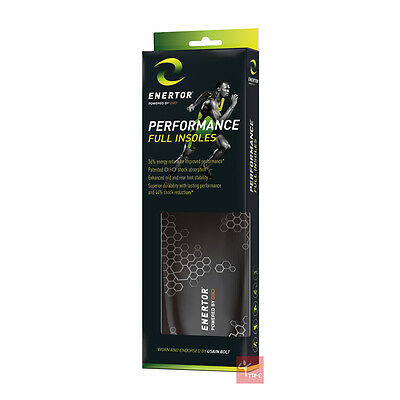 ENERTOR Performance Insoles **Endorsed by Usain Bolt**