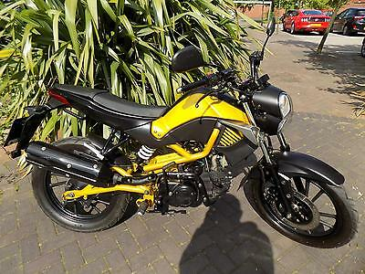 Kymco K-Pipe 125cc auto clutch,4 speed c50,c90 but supermoto/streetfighter/trail