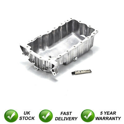 Engine Oil Sump Pan + Gasket Sealant + Plug For Golf 1.9 Tdi Pd Diesel Mk4 99-20