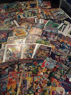 Transformers comics Complete UK collecton 1984-1993 JOB LOT Some copies missing