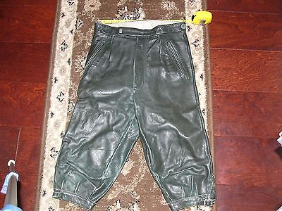 Vintage Authentic Leather Children's Oktoberfest Lederhosen Pants 26""