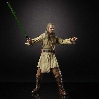 Star Wars  Black Series 6-Inch Action Figure Qui-Gon Jinn SHIPPING NOW