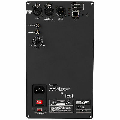 miniDSP PWR-ICE250 2x250 Watt DSP ICEpower Plate Amplifier