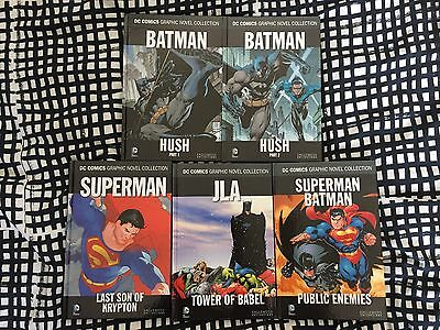 DC Graphic Novel Collection #1-5