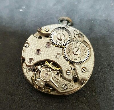 "Early Rolex 15 Jewels Watch Movement ""2494"""