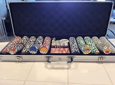 RARE Simpsons Cast/Crew Gift 2005 Simpsons Poker Chip set unopened chips/cards