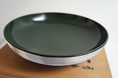 Authentic Japanese Wooden Lacquered Bowl - Rare item