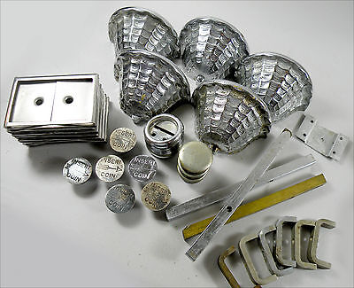 Assortment of Parts for HORN & HARDART Automat Dolphin Beverage Dispensers