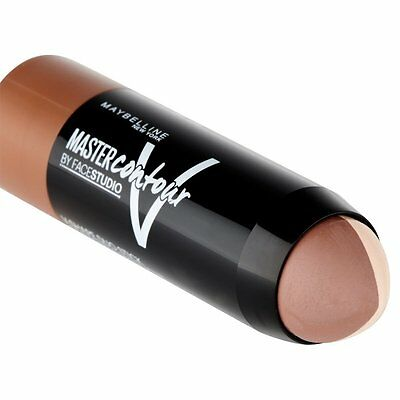 Maybelline Master Contour V Shaped Duo Stick. Choose Light 01 or Medium 02