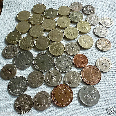 VARIOUS GIBRALTAR COINS £1 50p 20p 10p 5p 1p COIN HUNT YOUR CHOICE @@LOOK@@