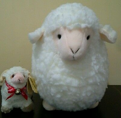 Lot of 2 Fuzzy Sheep