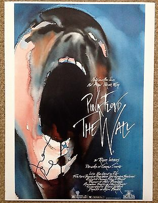 PINK FLOYD  -  THE WALL  -  ALAN PARKER  SIGNED COL PHOTO  - 10x16 Inches - UACC