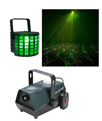 American DJ lighting package - Mini Dekker and Fog machine
