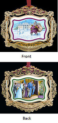 2011 The White House Historical Christmas Ornament President THEODORE ROOSEVELT