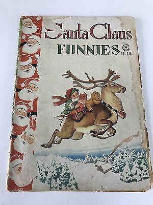 Four Color (1942 Series 2) #175 Santa Claus Funnies GD Good