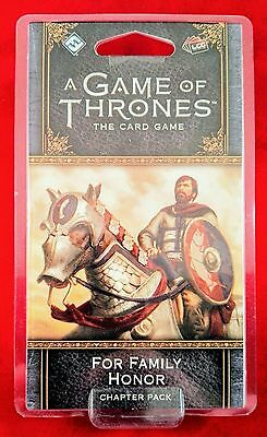 A Game of Thrones: The Card Game Second Edition FOR FAMILY HONOR Chapter Pack