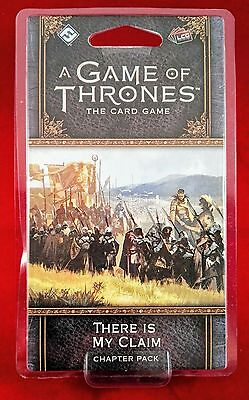 A Game of Thrones: The Card Game Second Edition THERE IS MY CLAIM Chapter Pack