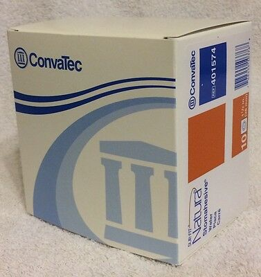 Sur-Fit Natura Stomahesive Wafer NEW BOX OF 10 Convatec 401574