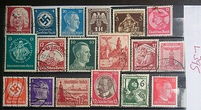 German Ww2 Stamps / Original, 1939 /45