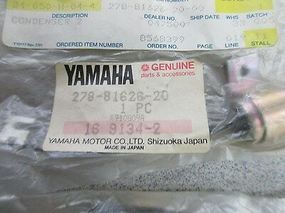 Genuine Yamaha Condensors, 278-81625-90-00, And 278-81626-20-00 L/h And R/h
