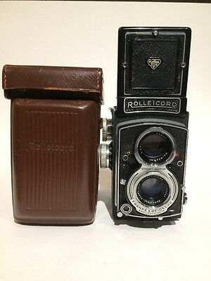 Rolleicord V TLR Film Camera With Schneider Xenar 75mm f/3.5 Lens Rolleiflex 6x6