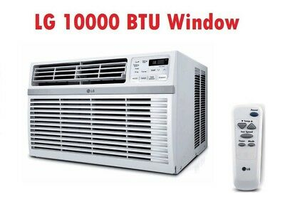 LG LW1016ER 10,000 BTU Air Conditioner With 3 Speed Cooling & Remote Volts 115