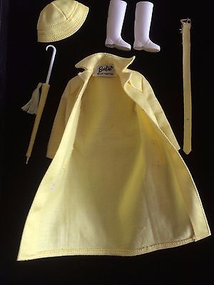 Barbie vintage-1963 Shopping In The Rain Outfit Ref: 949. HTF
