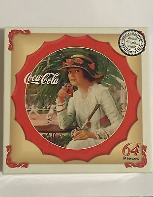 Coca Cola Bottlecap Puzzle Factory Sealed 64 Piece Puzzle