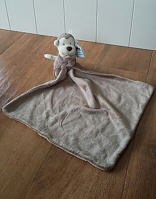 JELLYCAT Bashful Monkey Soother Comforter Comfort Blanket Cuddle Blankie