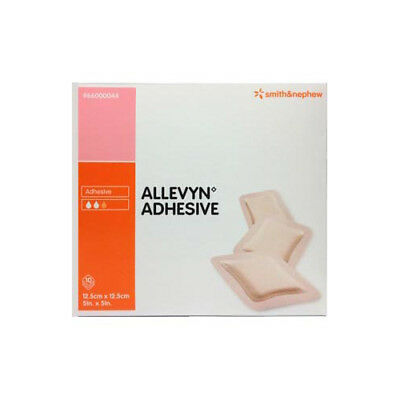 NEW Allevyn Dressing Pack Adhesive 12.5cm X 12.5cm -1 Pack First Aid