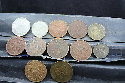 China 12assorted coins  lot G 779