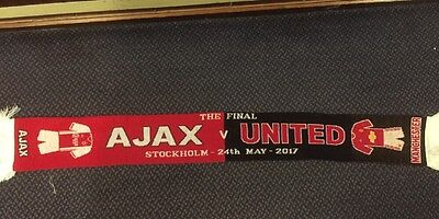 Manchester United V Ajax , Europa League Final , Match Scarf