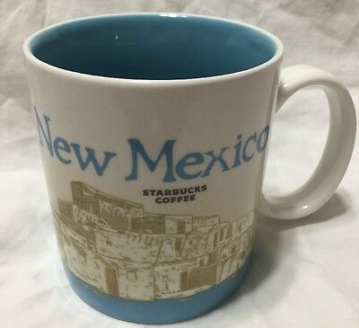 New Starbucks NEW MEXICO 16 oz Coffee Mug 2010 Collectors Series DISCONTINUED ..