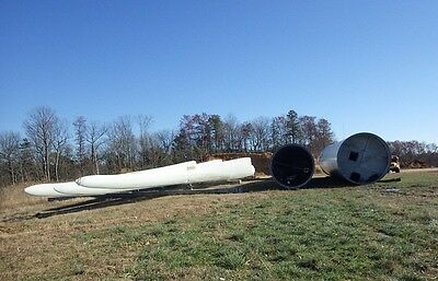 SET of 3 / 37 METER WIND TURBINE BLADEs FOR GE1.5-77 SLE built by MFG