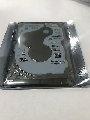 "Seagate Ultrathin HDD 500GB SATA III 5400 RPM 2.5"" ST500LT033 5mm Hard Drive SED"